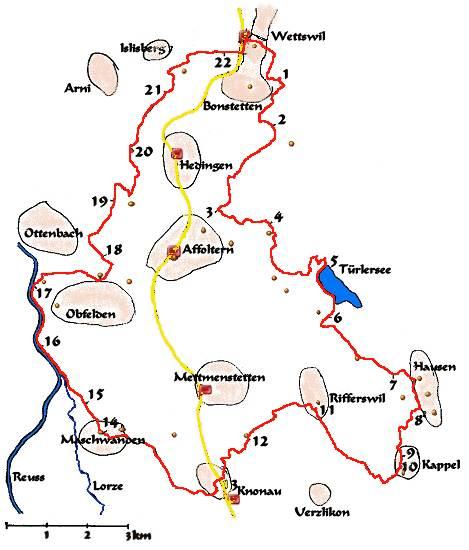 Mtlerweg for Gelbe tafeln